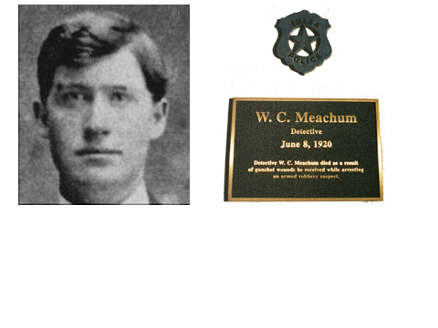 Detective William Charles Meachum