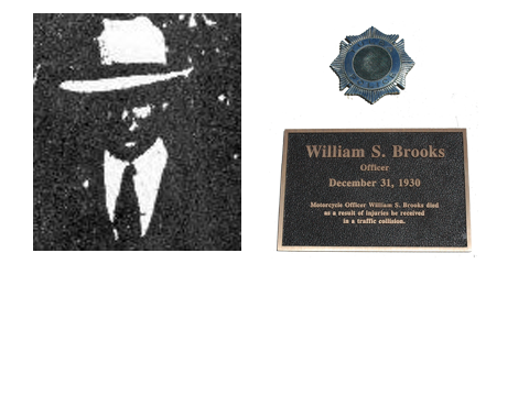 Officer William Sydney Brooks