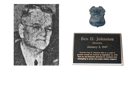 Detective Ben H. Johnston