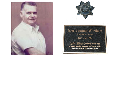 Auxiliary Officer Glenn Truman Wortham