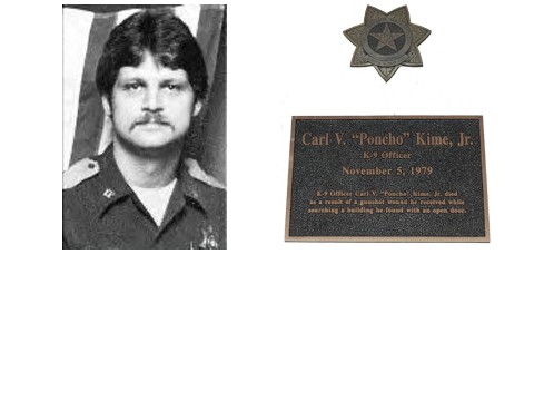"Officer Carl V. ""Poncho"" Kime, Jr."