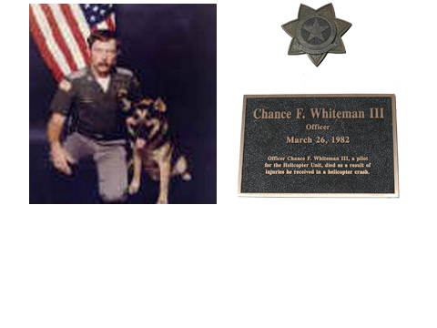 Officer Chance F. Whiteman III